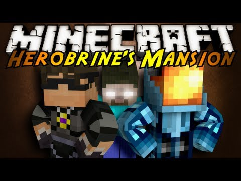 Minecraft: Herobrine's Mansion Part 1! майнкрафт маяк minecraft карта хиробрин videomine.ru minecraft-herobrine-s-mansion-part-1