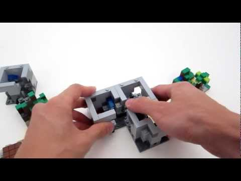 Lego Minecraft Set 21102 Review videomine.ru lego-minecraft-set-21102-review lego minecraft micro world 21102 лего обзор 21102