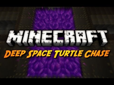 Minecraft Maps - End of Part 1? - Ep. 10 (Deep Space Turtle Chase)