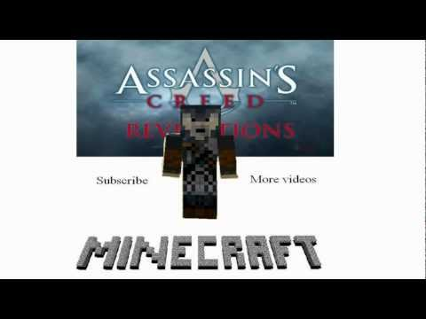 Minecraft - Assassin's Creed Revelations: A fanmade sequence (map, skin, smart moving mod) [HD] minecraft assassins creed mod HD скин ассасина для minecraft майнкрафт мод ассасин крид 3