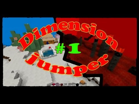 �������� Minecraft - Minecraft [����������� �����] #1 - Dimension jumper ����� ��������� ������ � ������