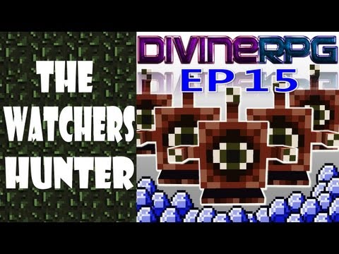 Caando The Watcher pelo Dom Angelical ~ Minecraft Divine RPG # 15 (Pasta .Minecraft 1.4.7) ~ PT/BR как вызвать watcher в divine rpg