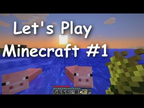 Let's Play Minecraft Survival (Part 1) - The Journey Begins!