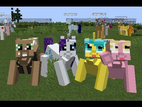 Minecraft 1.4.2 | HungerGames Victory | VAMPIRE | Mine Little Pony майнкрафт вампиры