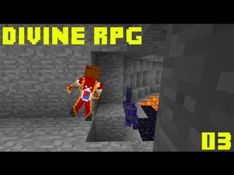 Divine RPG - 03 : En route vers le Nether ! ��������� �������  14  ��������