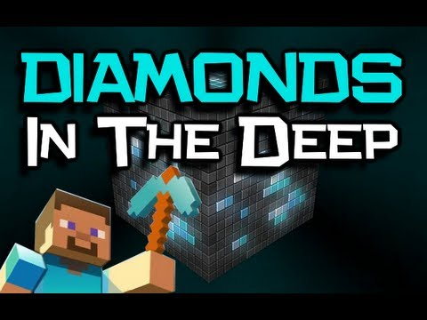 """Diamonds In The Deep"" Song - A Minecraft PARODY Of Adele 'Rolling In The Deep' (Minecraft Song)"