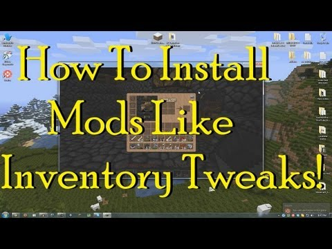 How to install Minecraft Mods [TUTORIAL] 1.3.2 Minecraft Modloader