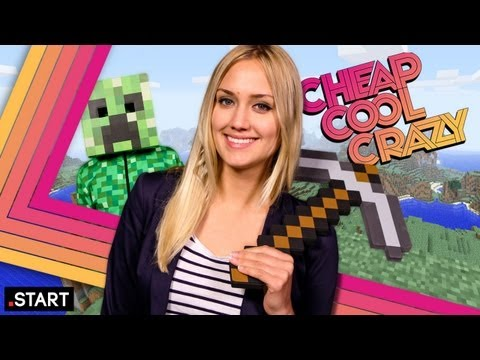 The Minecraft Episode Feat. LEGO Minecraft & A Real-Life Minecraft World! - Cheap Cool Crazy майнкрафт как делать sturdy