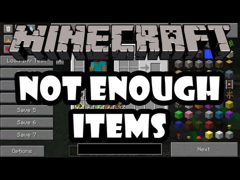 Minecraft 1.0.0 - Mod Madness - Not Enough Items Mod   How to Install [1.0.0]NEI minecraft mod minecraft 1.4.6 mod nei minecraft моды 1.0.0
