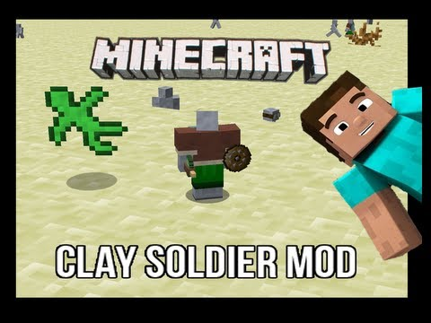 Descargar Clay Soldier Mod 1.4.7 minecraft mods