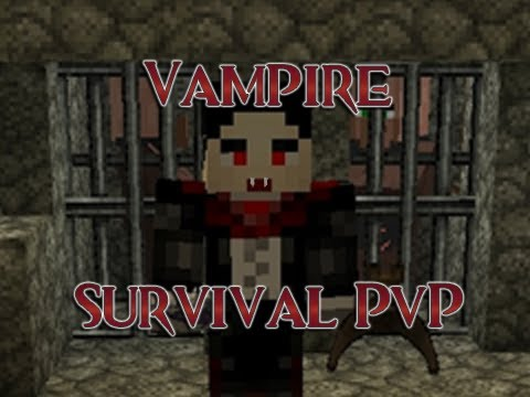Minecraft: Vampire Survival PvP Map videomine.ru minecraft-vampire-survival-pvp-map скачать pvp карту для vampire