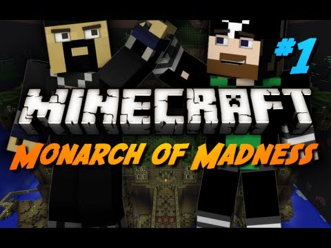 Minecraft Maps - Monarch of Madness - #1 - Crazy Man's Adventure!