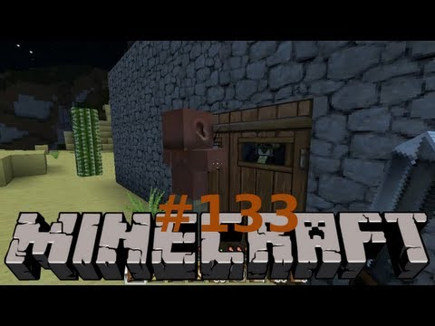 Let's Play Minecraft #133 [Deutsch] Klopf, klopf: Zombie! (Untertitel: FUUUU Performance!)