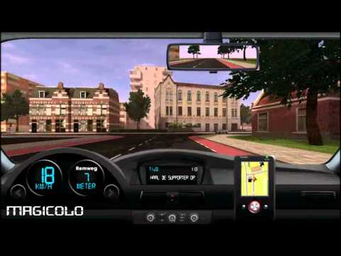 Видео мир Майнкрафт - Let's play Traffic Talent - Free 3D drive game online by Magicolo 2012 ITA игра  трафик  талант  2