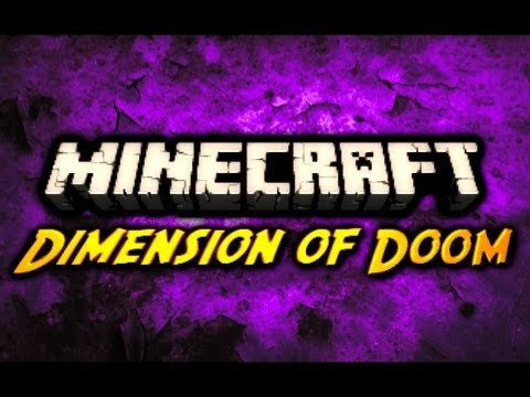 Minecraft Maps - Dimension of Doom - Pt. 2 (Adventure Map) minecraft карты на прохождение из doom
